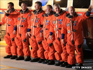 Endeavour crew (Getty Images)