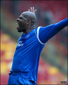 St Johnstone defender Michael Duberry