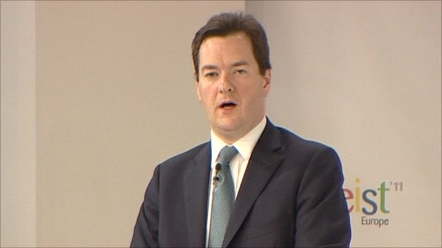 UK chancellor George Osborn