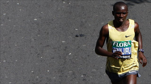 Samuel Wanjiru, London marathon 2009