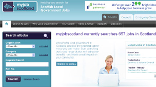 myjobscotland.gov.uk website