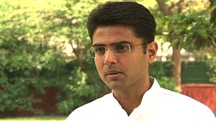 Sachin Pilot, Minister of State for Communications and Information Technology