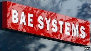 BAE Systems sign