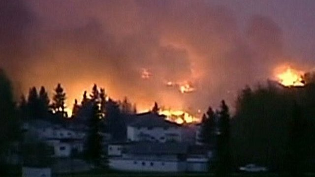 Slave Lake wildfires