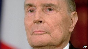 Francois Mitterrand, file pic from 1994