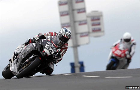 Alastair Seeley was fastest in Superbike and Supersport