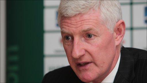 Northern Ireland manager Nigel Worthington