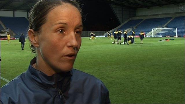 Stand-in England captain Casey Stoney