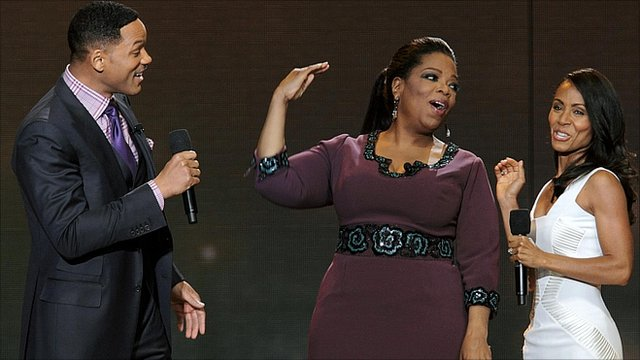 Will Smith, Oprah Winfrey and Jada Pinkett Smith