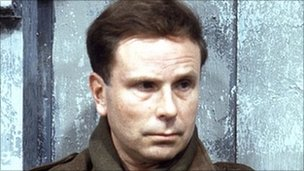 Edward Hardwicke as Captain Pat Grant in Colditz