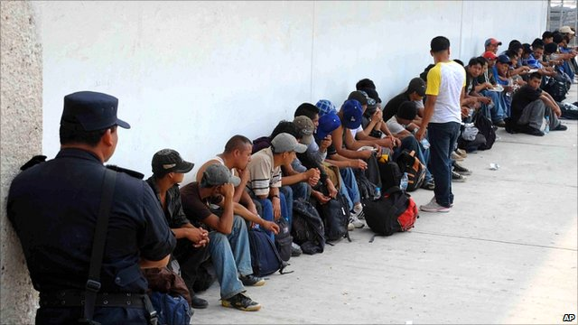 Migrants found in two trucks in Mexico bound for US