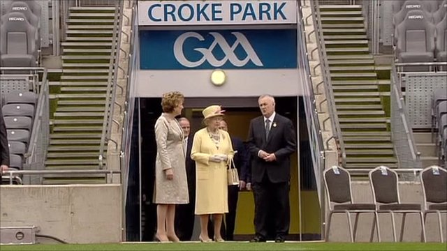 The Queen at Croke Park
