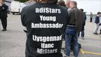 Person wearing Young Ambassador for Sports T-shirt