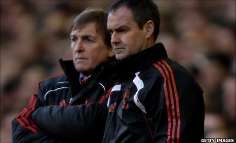 Kenny Dalglish (left) and Steve Clarke