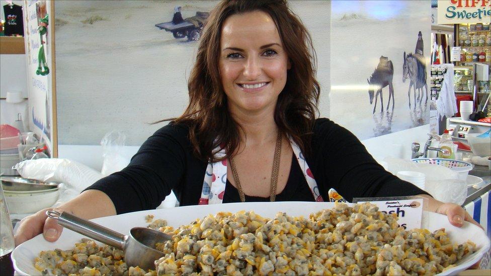 Bbc news swansea 39 s bomb hit market celebrates 50th for Williams fish market