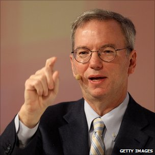 Eric Schmidt speaking