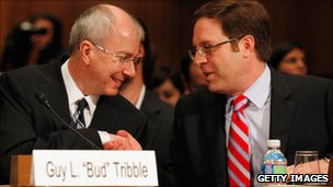 Google and Apple at US Senate hearing