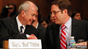 Google and Apple at US Senate hearing