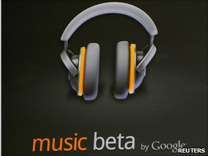 Music beta by Google sign