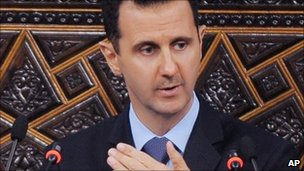 Bashar al-Assad (30 March 2011)
