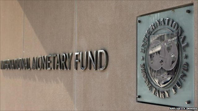 Sign for the International Monetary Fund