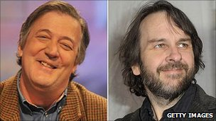 Stephen Fry and Peter Jackson