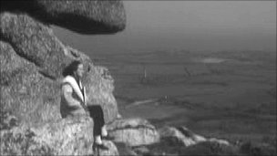 Barbara Hepworth in a film by the BBC 1961