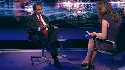 Francis Fukuyama and Sarah Montague