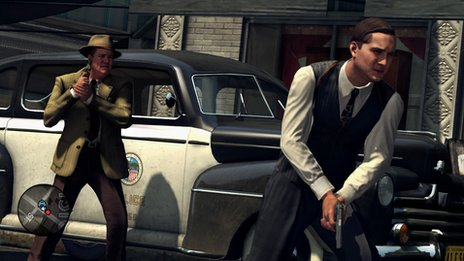 L.A. Noire screen grab