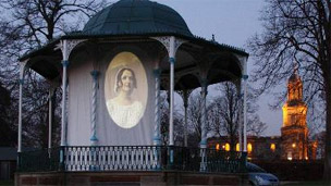 The Bandstand at the Quarry in Shrewsbury