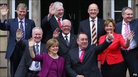 Scottish cabinet