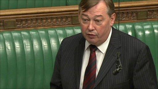 Labour MP Ian Mearns