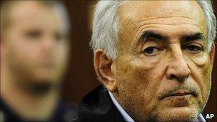 Dominique Strauss-Kahn at Monday hearing