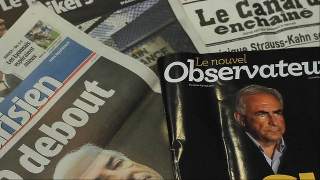French newspapers and magazines