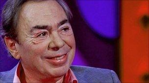 Lord Andrew Lloyd Webber