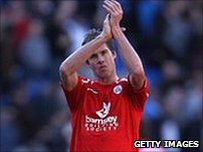 Barnsley striker Andy Grey