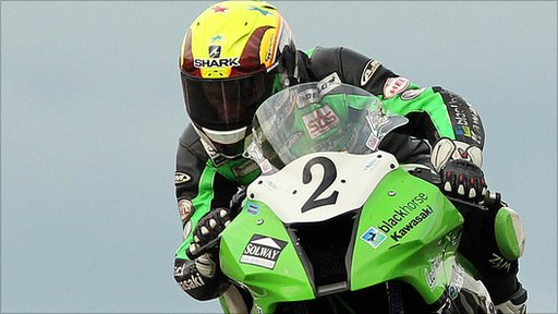 Ian Lougher at the NW200