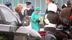 Queen arrives in Ireland