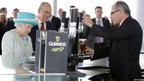 The Queen visits the Guinness Storehouse