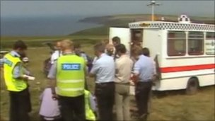 Crimewatch pictures from search in Pembrokeshire
