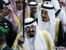 Saudi Arabia's King Abdullah