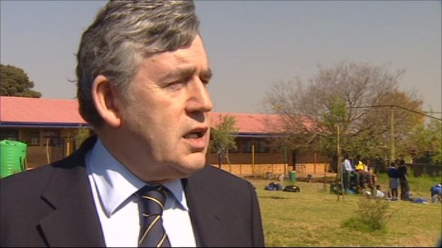 Former Prime Minister Gordon Brown