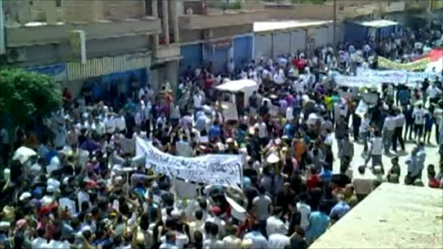 Protests in Syria