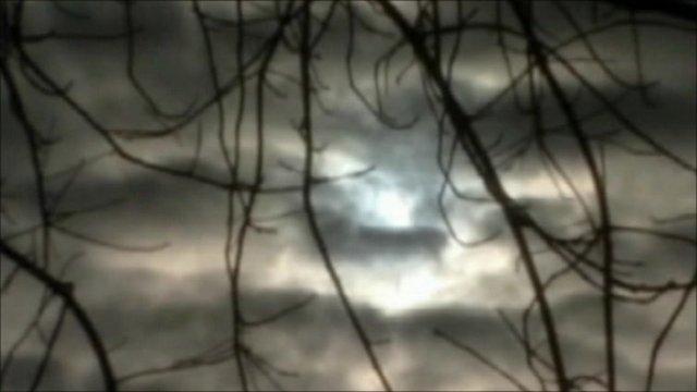 Gloomy skies