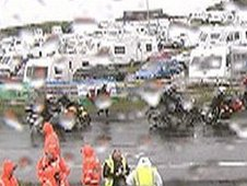 Raining at the North West 200