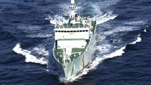 Marine protection vessel Hirta. Scottish government photo