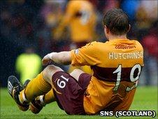 Motherwell defender Shaun Hutchinson