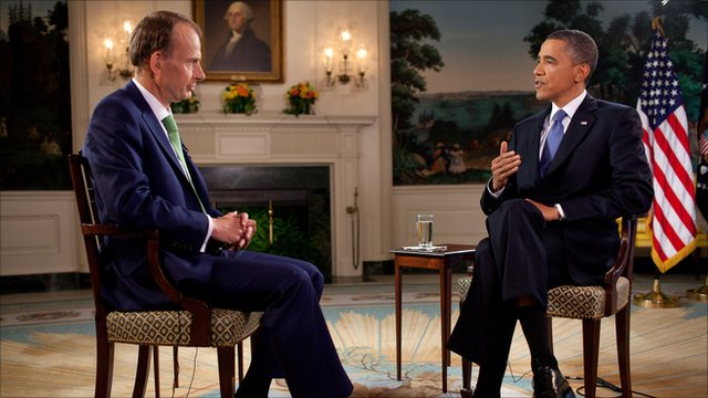 Andrew Marr interviews US President Barack Obama