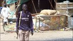An armed man in Abyei (file photo)