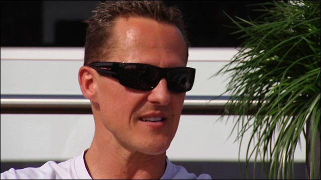 Mercedes' Michael Schumacher